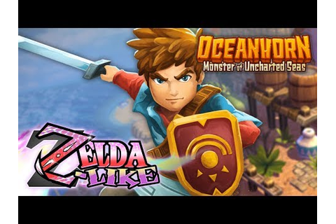 Oceanhorn: Monster of Uncharted Seas (Zelda Clone?) - YouTube