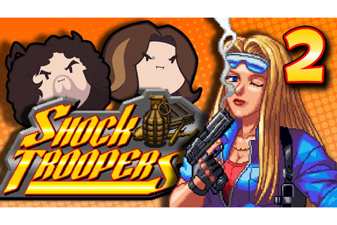 Shock Troopers: Tanks A Lot - PART 2 - Game Grumps - YouTube
