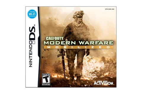 Call of Duty: Modern Warfare: Mobilized Nintendo DS Game ...