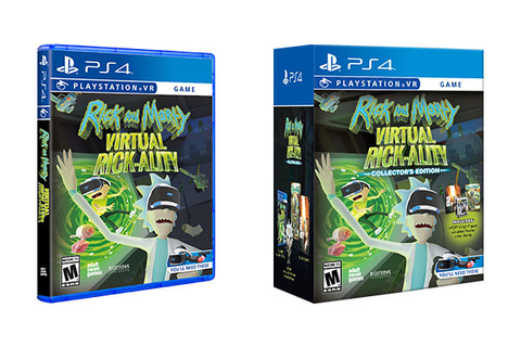 Rick and Morty: Virtual Rick-ality PlayStation VR physical ...