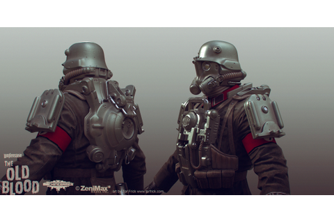 Wolfenstein: The Old Blood artdump — polycount