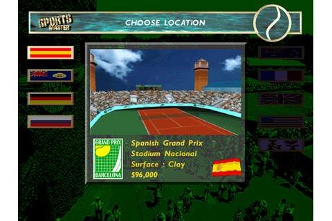 Pete Sampras Tennis 97 Screenshots for DOS - MobyGames