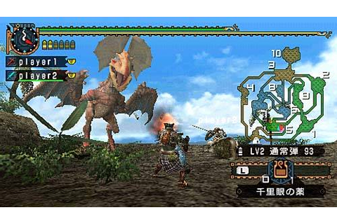 Monster Hunter Freedom 2 › Games-Guide