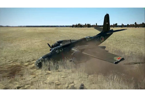 IL 2 Sturmovik Battle of Stalingrad Epic Crashes and Fails ...