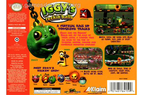 Iggy's Reckin' Balls - Nintendo N64 - Games Database
