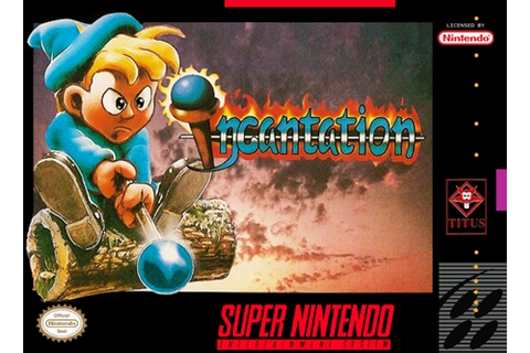 Incantation SNES Super Nintendo