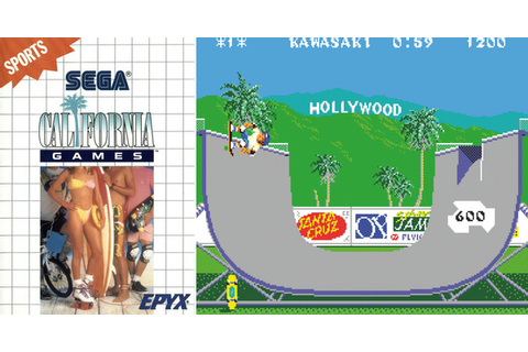 Play California Games on Master System