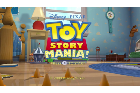 Toy Story Mania Wii Gameplay - YouTube