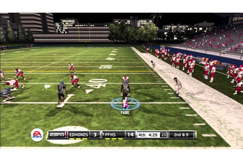 NCAA Football 12: Road to Glory High School Game - YouTube