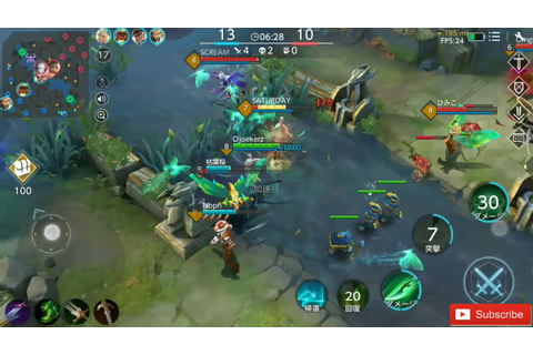 Warsong - Game Moba 5v5 Battle Best Graphics - YouTube