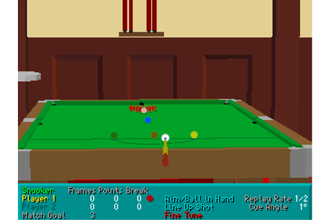 Download Virtual Snooker - My Abandonware