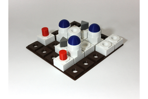 Blind Friendly Board Game: Santorini by Targ - Thingiverse