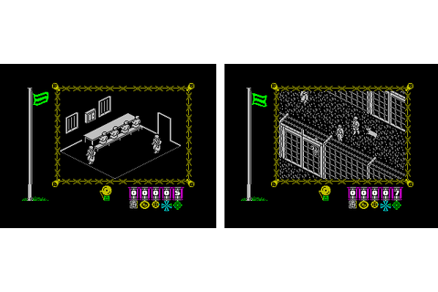 Old Machinery: ZX Spectrum isometric