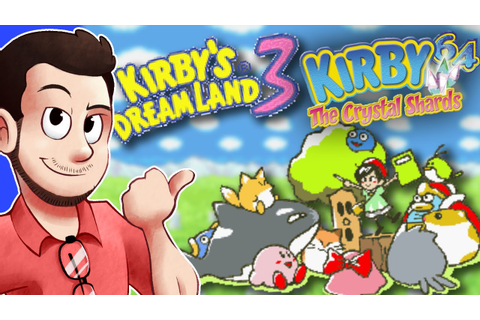 Kirby Dream Land 3 & 64: The Crystal Shards - Dude Reviews ...