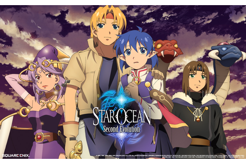 Pretty Cool Games: STAR OCEAN: THE SECOND STORY/SECOND ...