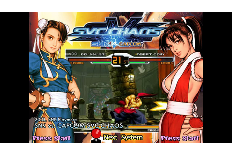 Neo Geo - SvC Chaos SNK vs Capcom overview - YouTube