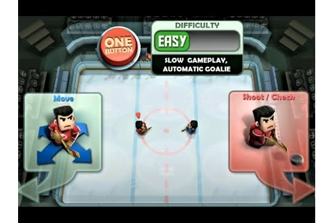Ice Rage: Hockey free - Beating all players in Easy and ...