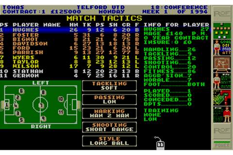 Premier Manager 2 Screenshots for Atari ST - MobyGames