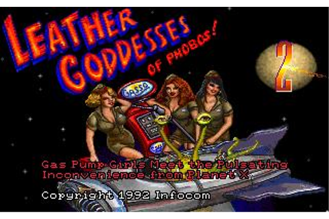 Leather Goddess of Phobos 2 Download (1992 Adventure Game)