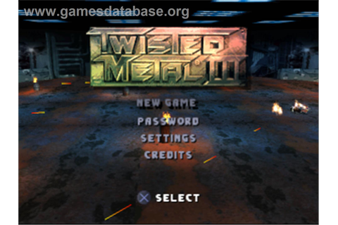 Twisted Metal III - Sony Playstation - Games Database