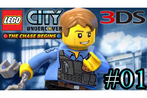 Lego City Undercover The Chase Begins (3DS) - Parte 1 ...