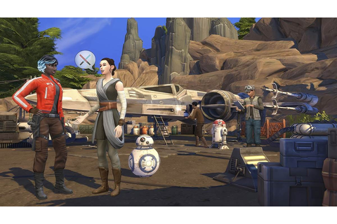 """The Sims 4"" Comes to Star Wars: Galaxy's Edge in ""Journey ..."
