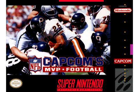 SNES A Day 58: Capcom's MVP Football - SNES A Day