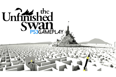 The Unfinished Swan Gameplay (PS3 HD) - YouTube