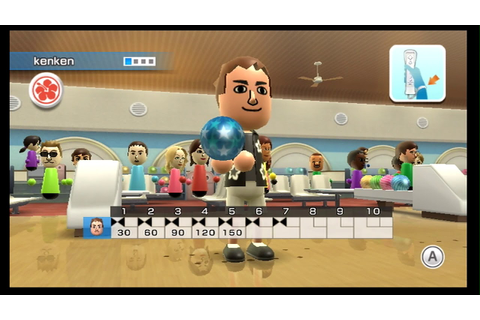 Wii Sport Resort - Bowling (10-Pin Game) Score 289 - YouTube
