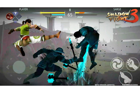 Shadow Fight 3 Developers Test Best Brutal Fight - YouTube