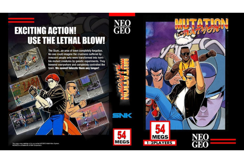 NEO·GEO - MUTATION NATION [720p HD] - YouTube