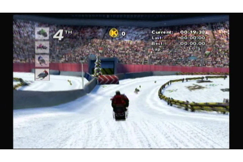 Kawasaki Snowmobiles Review (Wii) - YouTube