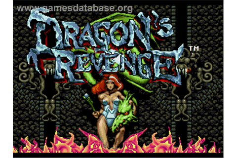 Dragon's Revenge - Sega Genesis - Games Database
