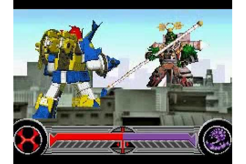 Power Rangers Ninja Storm GBA Game - Stage 2 - YouTube