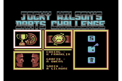 Download Jocky Wilson's Darts Challenge - My Abandonware
