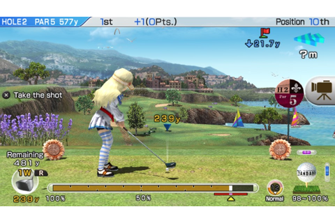 Review: Hot Shots Golf: World Invitational (Vita ...