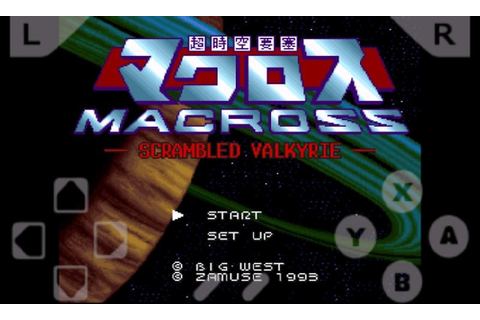 Super Dimension Fortress Macross Free Android Game ...