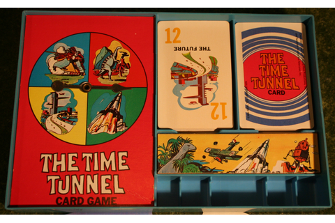 The Time Tunnel Card Game. | Little Storping Museum