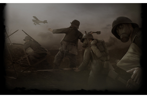 German Army Attacking HD Wallpaper | Background Image ...