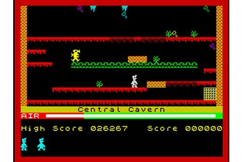 Manic Miner Walkthrough, ZX Spectrum - YouTube