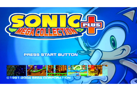 One-Off Let's Plays - Sonic Mega Collection Plus (PS2 ...