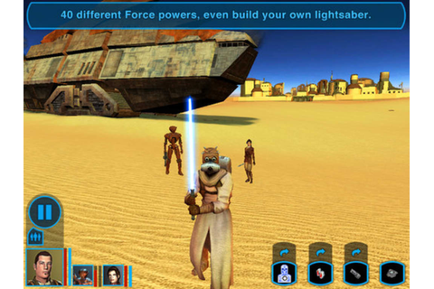 Star Wars : Knights of the Old Republic for iPhone - Download