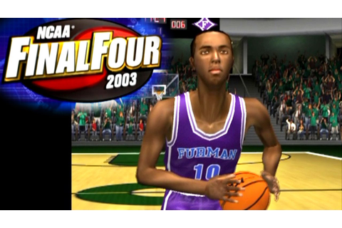 NCAA Final Four 2003 ... (PS2) - YouTube