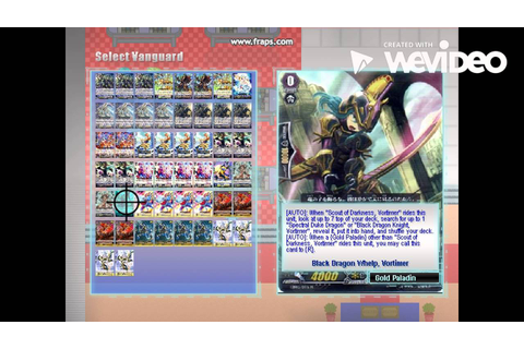 Cardfight! Vanguard Offline Pc Game - YouTube