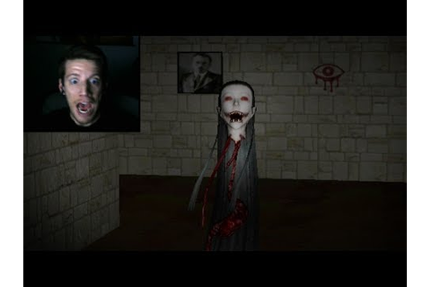 WORST JUMP SCARE EVER! (Eyes Horror Game) - YouTube