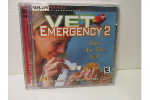 Vet Emergency 2 You Are the Vet. Real Life Games 2 CDs ...