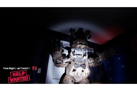 FNAF: Help Wanted release date confirmed, VR only (updated ...