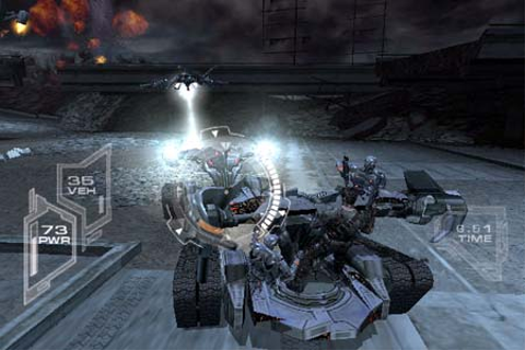 World Famous Comics >> Terminator 3: The Redemption - Game ...