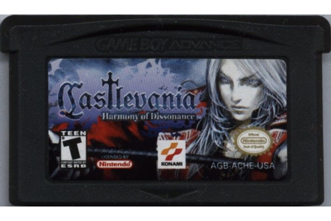 Castlevania: Harmony of Dissonance (2002) Game Boy Advance ...