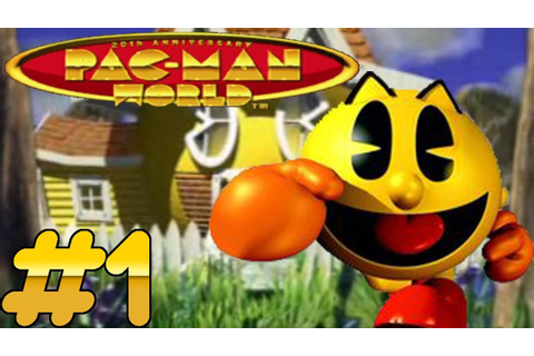 Pac-Man World (PS1) Playthrough - Part 1 - Somco Gaming ...